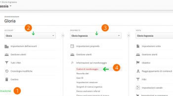 Affiliazioni: codice di monitoraggio dei click su Google Analytics