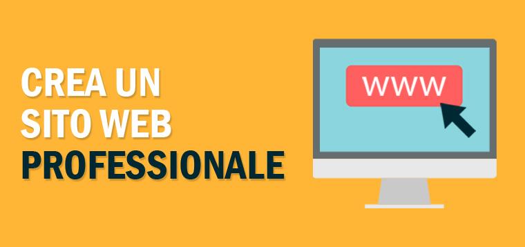 Crea un sito web professionale